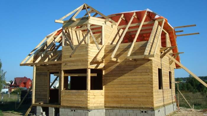 Строительство дома своими руками под ключ из бруса 75