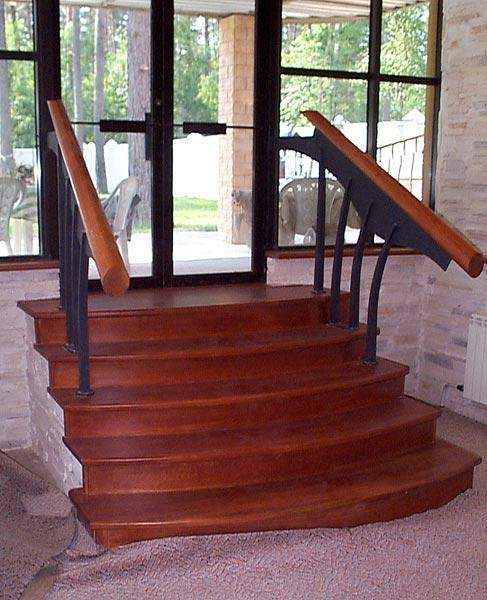 Лестницы из массива дуба на заказ - изготовление мебели в