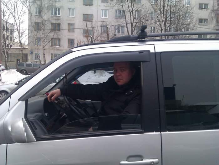 Водитель со своим транспортере элеватор в ковылкине