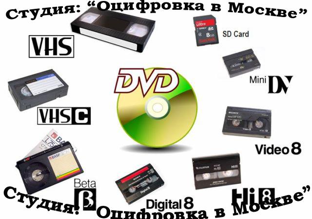 или места где переводят кассеты на диск руках