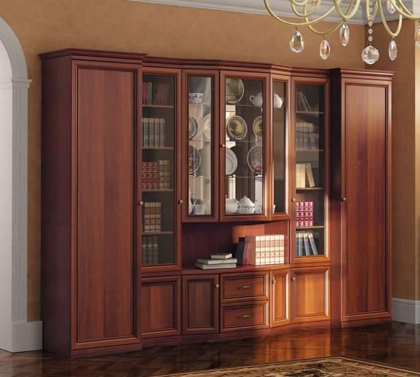 """Коллекция корпусной мебели адель от фабрики """"славяна"""" - шкаф."""