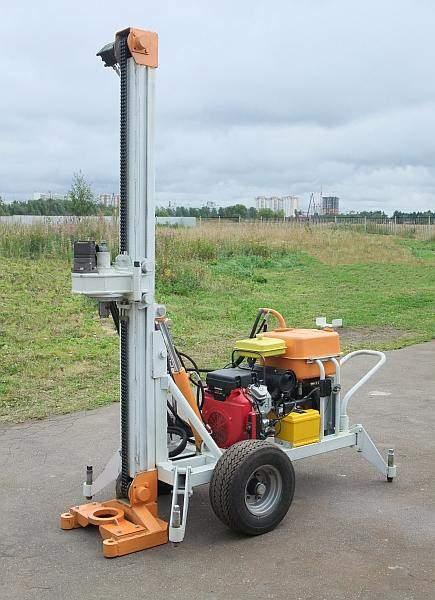самоходные буровые установки для бурения скважин на воду цена