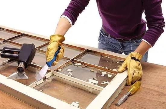 Двери межкомнатные замена стекла своими руками 57
